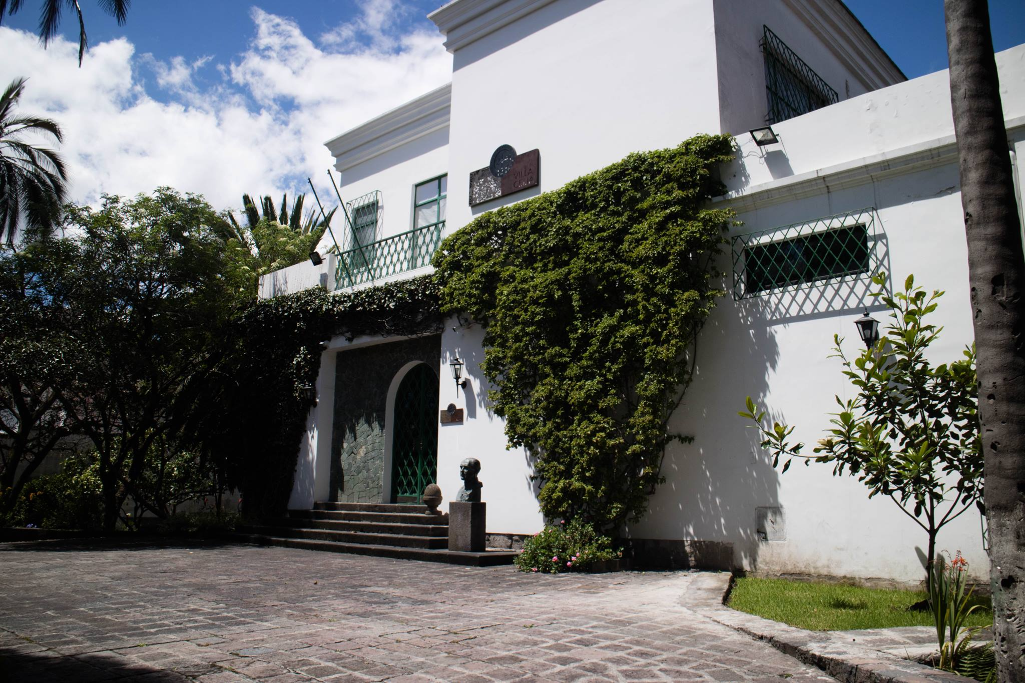 Villa Celia in a sunny day